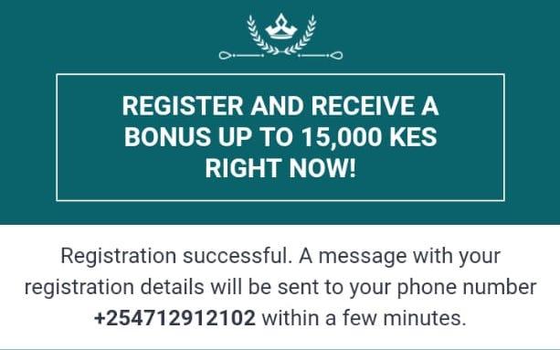 registration completion