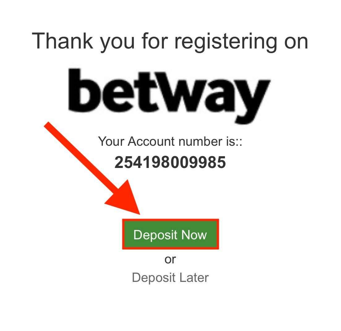deposit betway